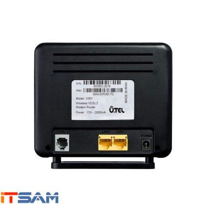 مودم روتر یو.تل VDSL2/ADSL2 Plus بی سیم مدل V301