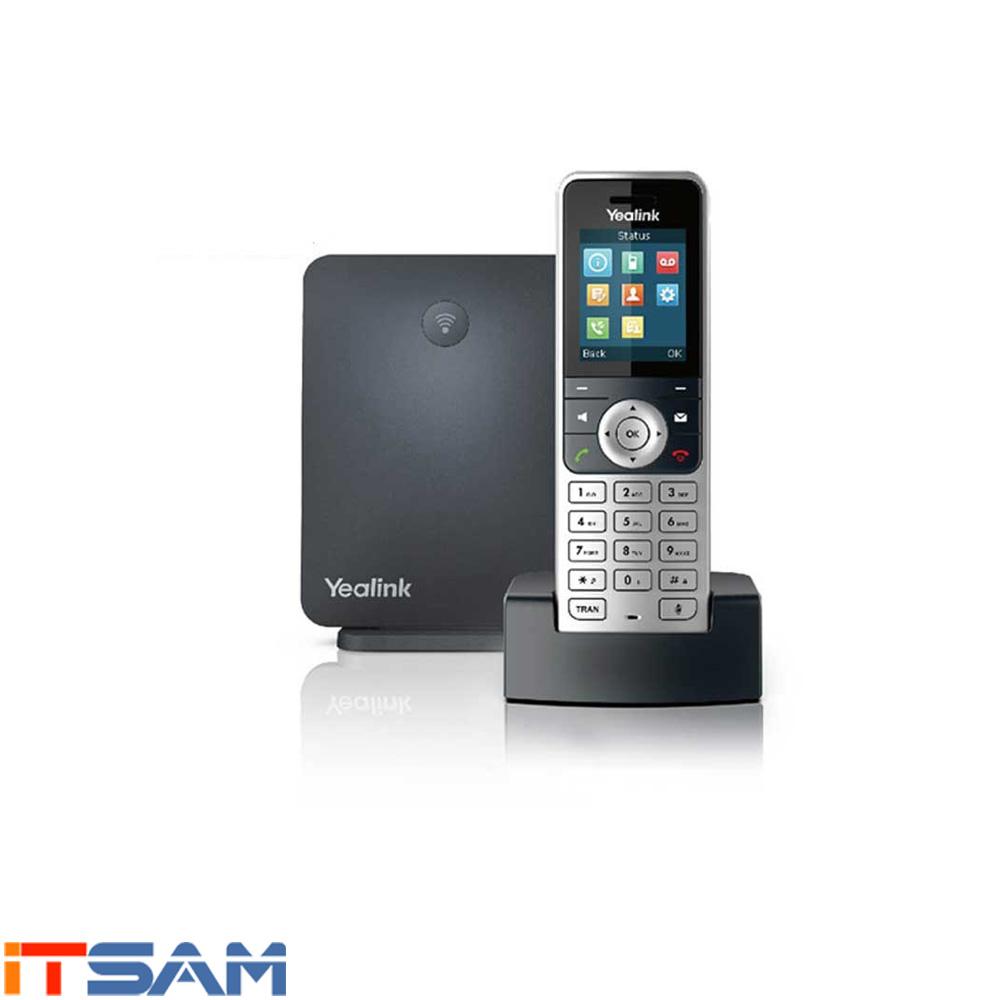 گوشی IP DECT اضافی بی سیم YeaLink مدل W53H