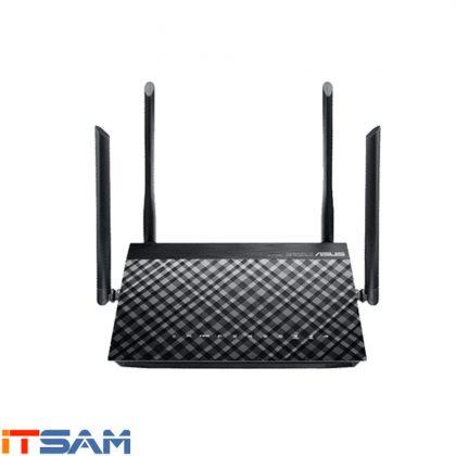 مودم روتر ADSL/VDSL دوبانده ایسوس مدل DSL-AC55U