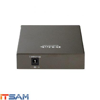 مبدل فیبر نوری به اترنت دی لینک مدل DMC-700SC